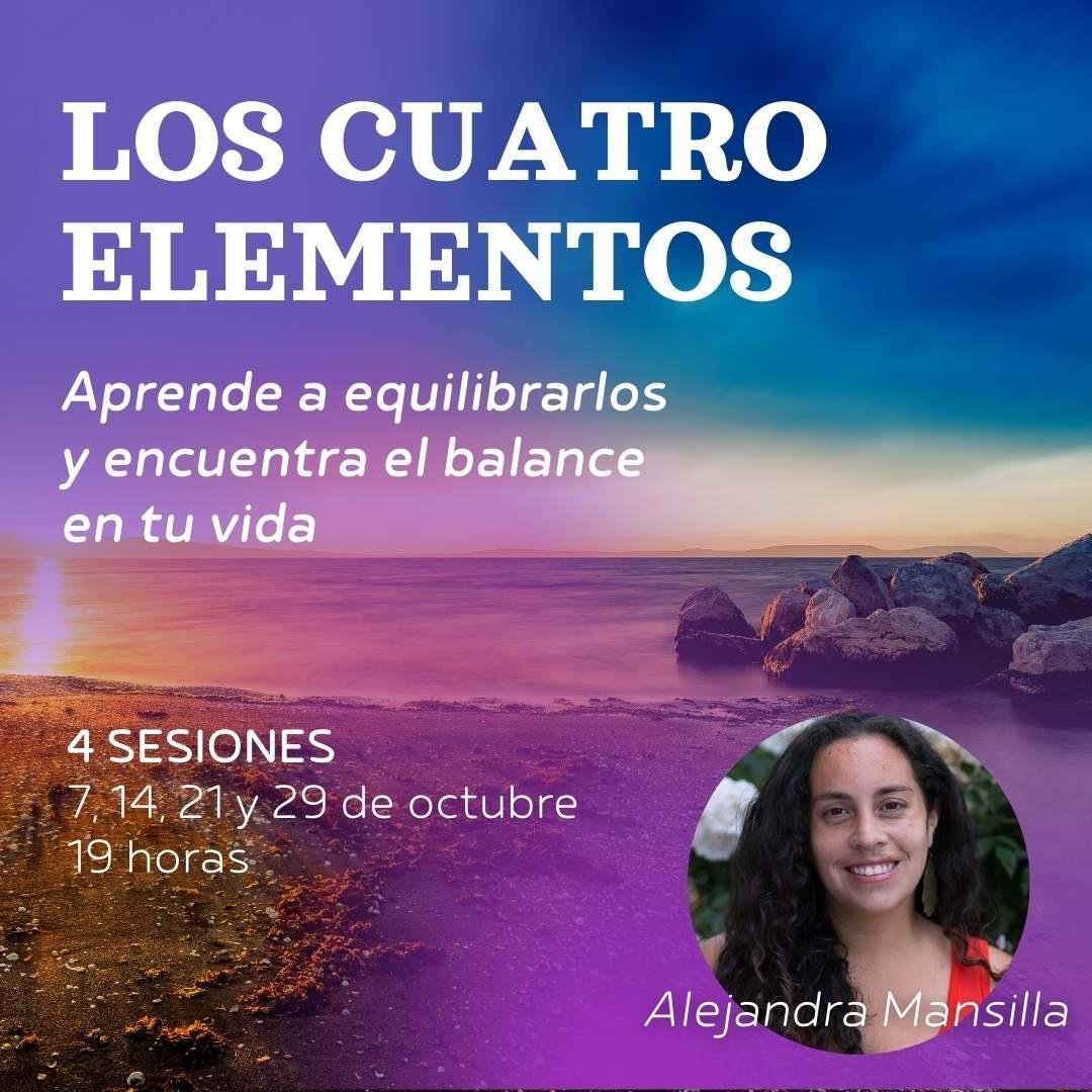 Taller: Sabiduría de los 4 elementos